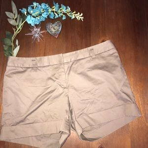 Express tan shorts 12